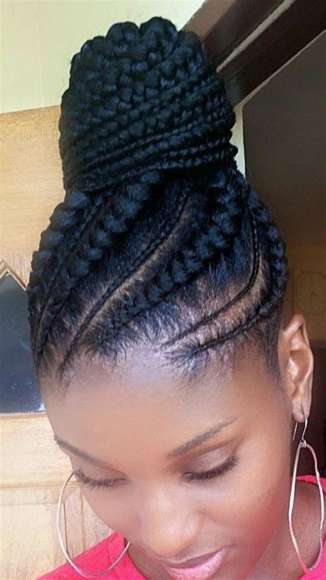 photo gallery of braided hairstyles cornrow braids in a ponytail stylis