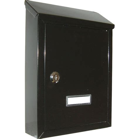 cassetta postale alubox cassetta postale prima nera acquista da obi