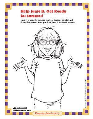 random house coloring pages 14 best images about junie b jones party on pinterest