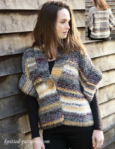 knitted jacket patterns free womens s jacket free knitting pattern