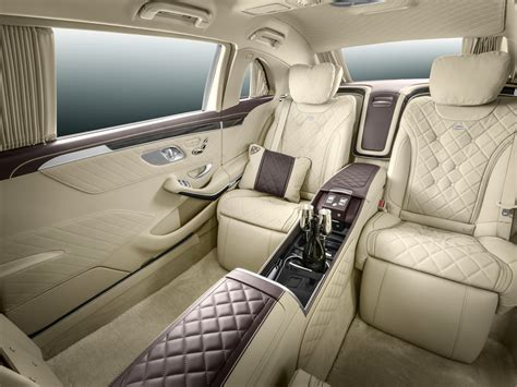 maybach interior mercedes maybach pullman longs for attention 187 autoguide