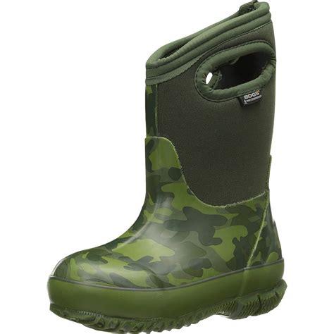 bogs classic camo boot boys ebay