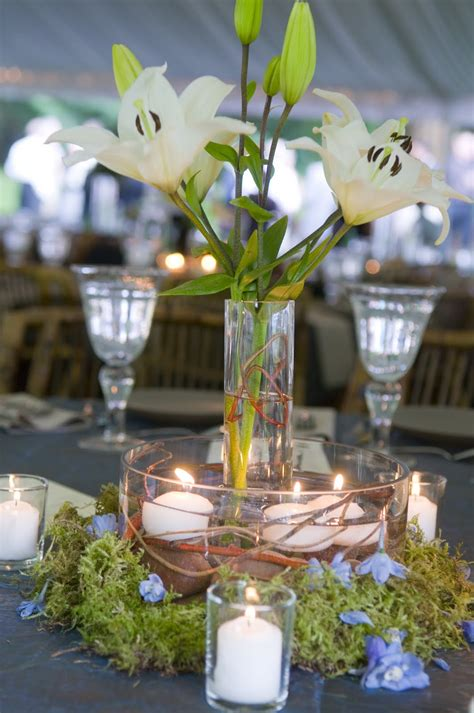the event specialists true candle centerpieces