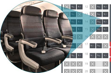 preferred seat air canada preferred seats