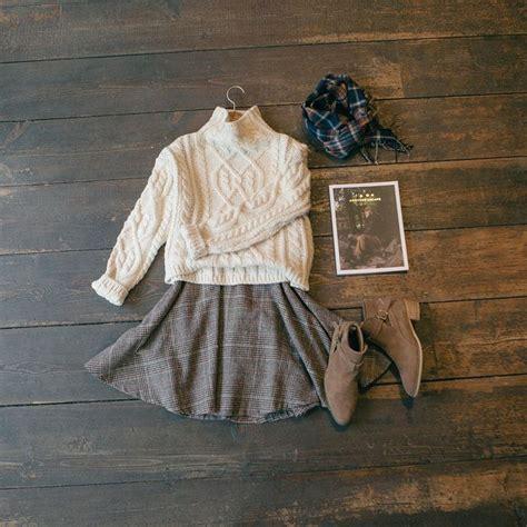 Jumper Check Skirt best 25 sweater ideas on brown boots