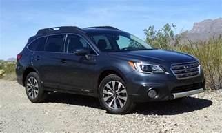 Subaru Outback Limited Test Drive 2017 Subaru Outback Limited 2 5 Testdriven Tv