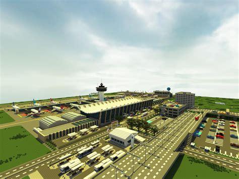 [Minecraft] Airport by Yazur on deviantART   Minecraft