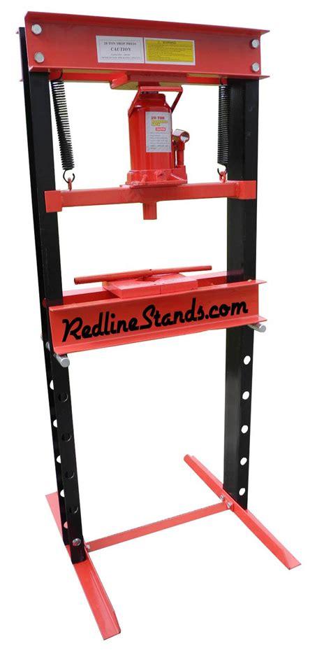 20 Ton Floor by New Redline Re20t Shop Press 20 Ton Auto Automotive