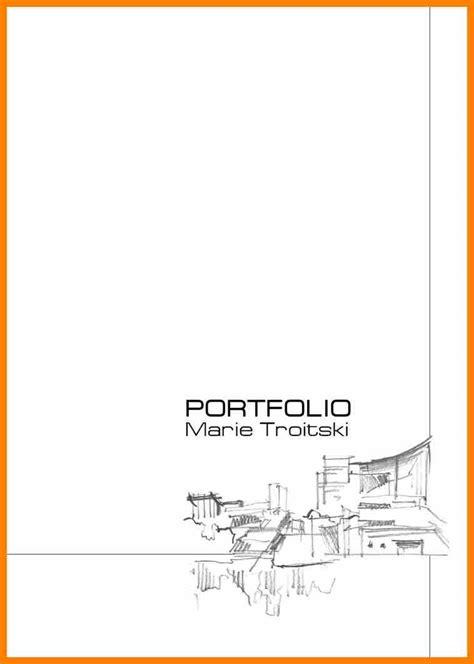 portfolio cover template 5 portfolio cover page sles target cashier
