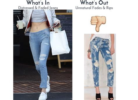 Whats In And Whats Out For 2014 Fashion Trends | 5 jeans trends for summer 2016 latest fashion in jeans