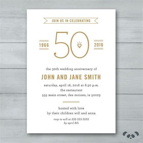 invitation for wedding anniversary celebration best 25 anniversary invitations ideas on