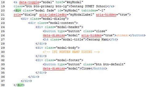 membuat artikel dengan bootstrap membuat pop up box modal dengan bootstrap