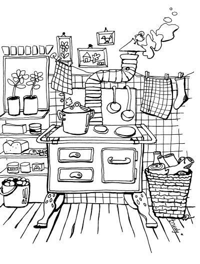 coloring pages for adults kitchen 104 besten houses bilder auf pinterest ausmalen