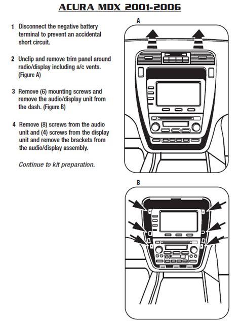 Bracket Hoda 2 5pk 2005 acura mdx installation parts harness wires kits