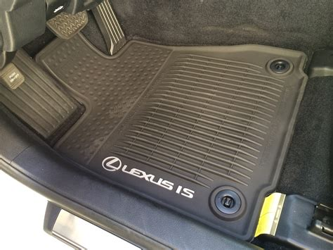 Lexus Rubber Floor Mats by 2014 Lexus Is 250 All Weather Floor Mats Drgnfenx Mr2