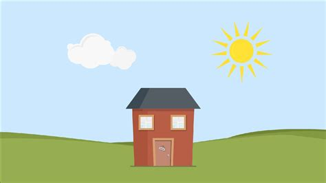 house animated pop out house animation youtube