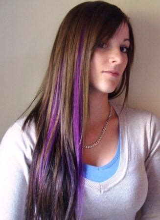 colors of streaks in hair for black women cute purple hair highlights for 2017 new hair color