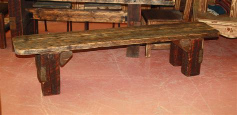 barnwood benches barnwood bench durango trail rustic furniture