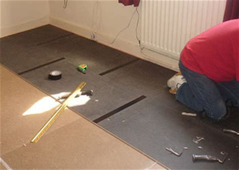 sound proofing floors timber and concrete