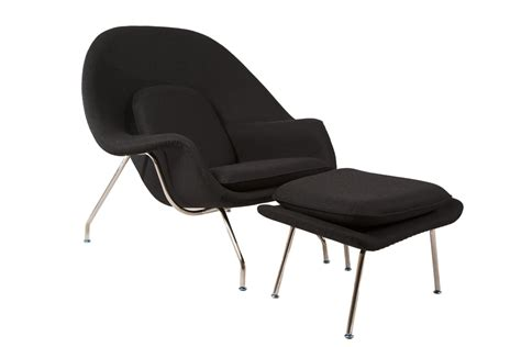 The Womb Chair by The Womb Chair Ottoman Reproduction By Home Elements
