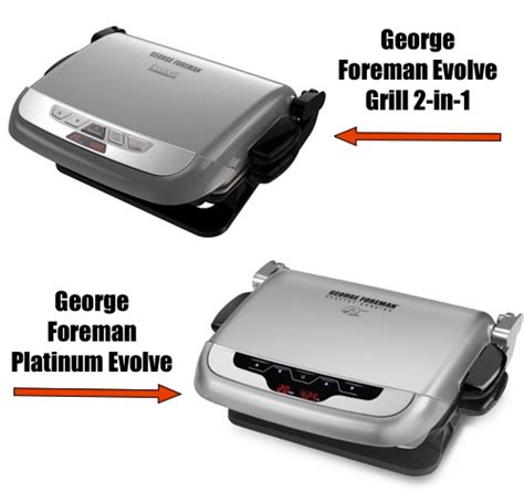 George Foreman Evolve Grill by George Foreman Evolve Vs Platinum Evolve Grill What Is