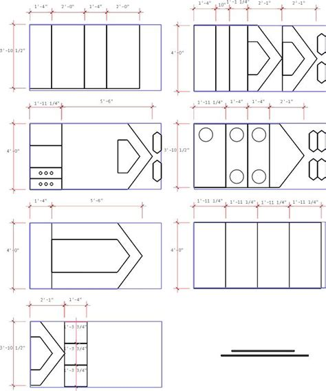 e plans com plywood cutting plan for walls doors cubbyholes and
