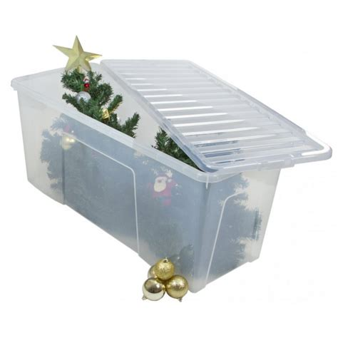 artificial christmas tree container