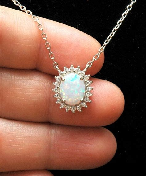 white opal necklace 25 best ideas about opal jewelry on