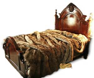 Wolf Bedspreads Comforters Introducing Luxurious Faux Fur Bedspreads By Fur Accents
