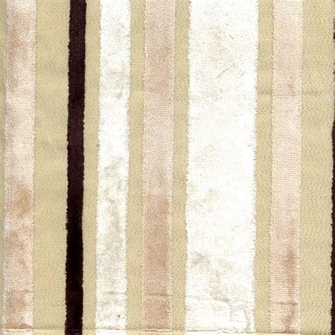 Discount Velvet Upholstery Fabric by Velvet Stripe 793 Ivory Upholstery Fabric Sw47395