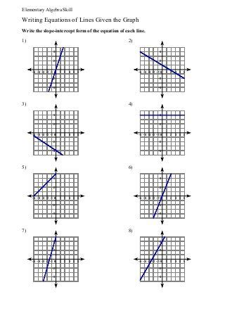 printable math worksheets graphing linear equations algebra 1 graphing linear equations worksheet free
