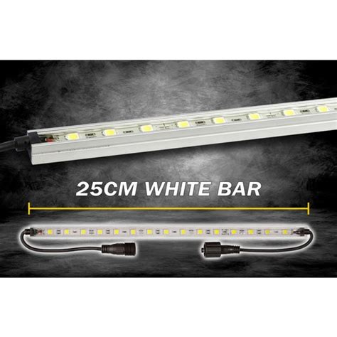 25 led light bar korr lighting led light bar white 25cm