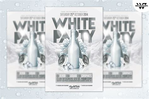 all white flyer template free white flyer template flyer templates on creative market
