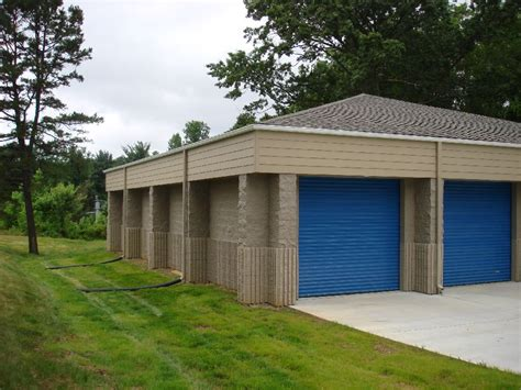 Cinder Block Storage Shed by Block And Concrete Work For Southern Community Bank