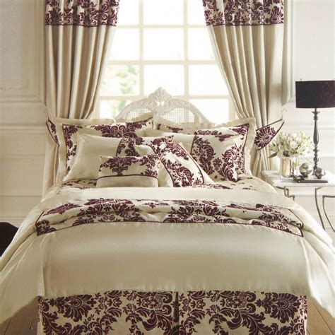 royal bedding royal velvet duvet cover in victorian damask faux silk