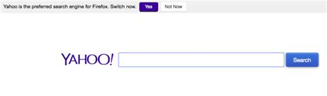 800 Directory Lookup Yahoo Asking Firefox Users To Make Yahoo Search Their Default Search Engine
