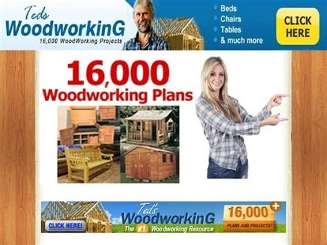 ted woodworking home freecycle