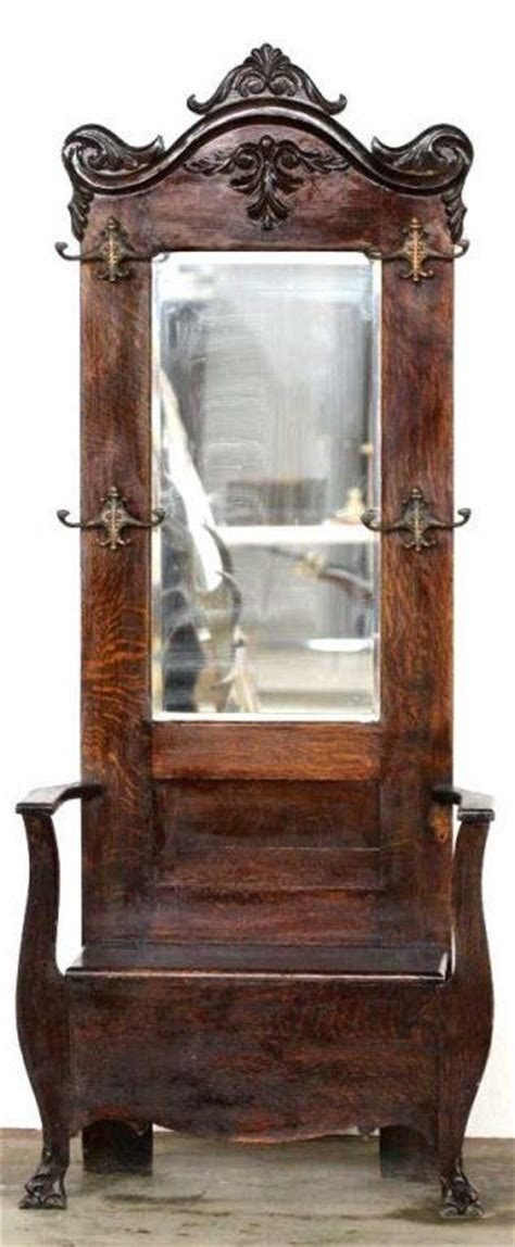 hall tree with bench and mirror best 20 antique hall tree ideas on pinterest door hall