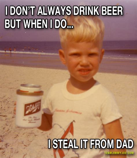 Kid Drinking Beer Meme - 15 random funny pics of weirdness team jimmy joe