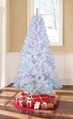 holiday time white pre lit sonoma pine tree walmart canada