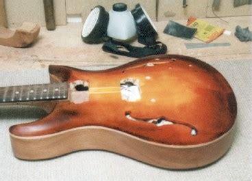 Nach Dem Beizen Lackieren beschreibung des baues einer archtop gitarre seite 11
