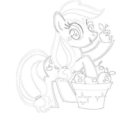 free coloring pages applejack free coloring pages of apple jack my little pony