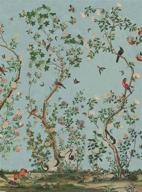 Papier Peint Deco 2534 by Kinesisk Tapet Stile Peinture Porcelaine