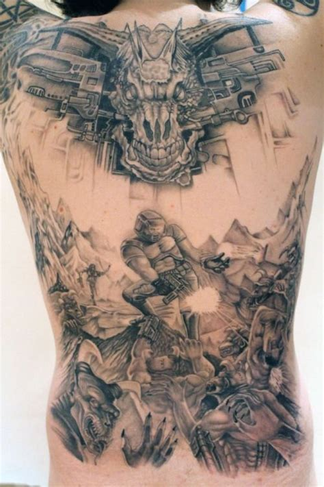 doom tattoo doom search tattoos and ideas