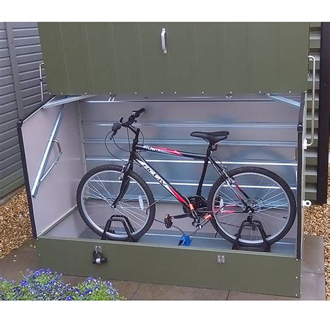 Trimetals Bike Shed by Trimetals Protect A Cycle