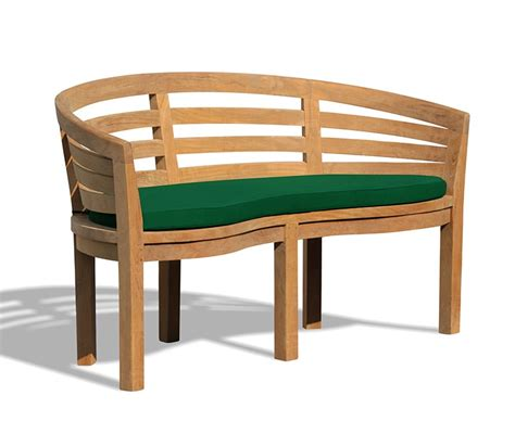 teak banana bench kensington teak banana bench