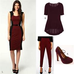 what color shoes to wear with burgundy dress chasingcait autumn winter 2013 trends and how to