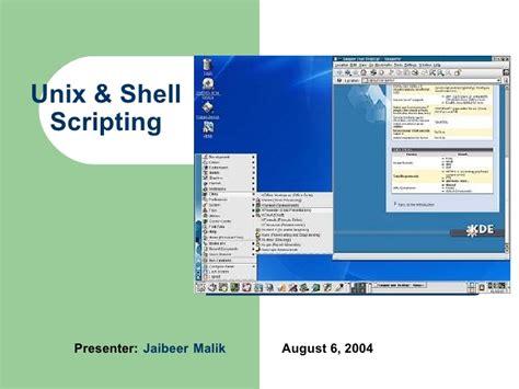 online tutorial unix shell scripting unix and shell scripting