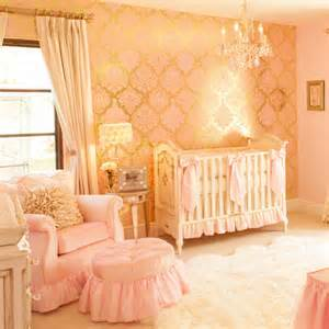 a pink and gold princess pad for a glam baby