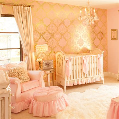 baby pink bedroom accessories a pink and gold princess pad for a glam baby girl little